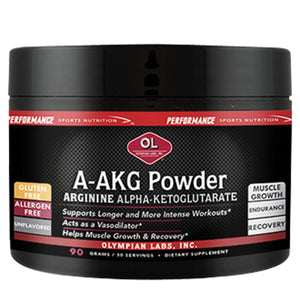 A-AKG Powder 90 g by Olympian Labs (2588974448725)