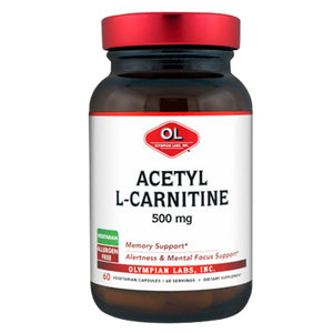 Acetyl L Carnitine 60 caps by Olympian Labs (2588974547029)