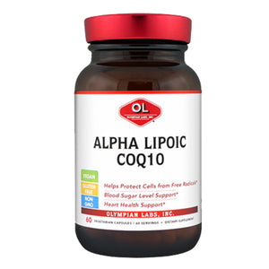 Alpha Lipoic CoQ10 60 caps by Olympian Labs (2584222400597)