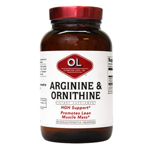 Arginine & Ornithine 100 caps by Olympian Labs (2588974678101)