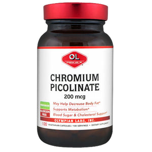 Chromium Picolinate Chromax 100 caps by Olympian Labs (2588974776405)