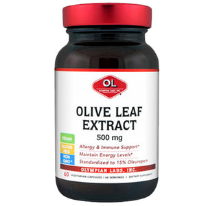 Olive Leaf Extract 60 caps by Olympian Labs (2588977430613)