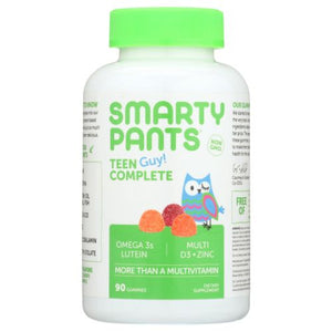 Teen Guy Complete Vitamins 90 Count by SmartyPants