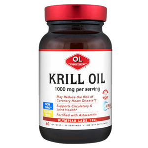 Krill Oil 60 softgels by Olympian Labs (2588978905173)