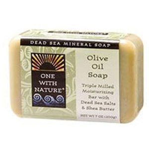 Almond Bar Soap Olive Oil, 7 Oz by One with Nature (2584205983829)