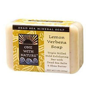 Almond Bar Soap Lemon Verbena, 7 Oz by One with Nature (2584206082133)