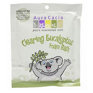 Aromatherapy Foam Bath Kids Clearing 2.5 Oz by Aura Cacia (2588920610901)