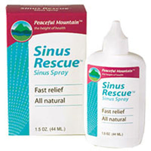 Nasal Rescue 1.5 Oz by Peaceful Mountain (2588964323413)