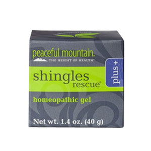 Shingles Rescue Homeopathic Gel Plus 1.4 Oz by Peaceful Mountain (2584215781461)