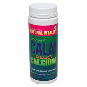 Natural Calm Plus Calcium Raspberry/Lemon 8 OZ by Natural Vitality