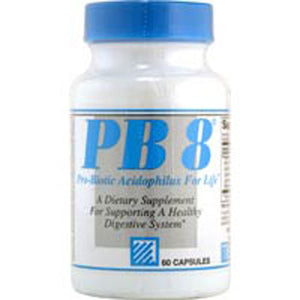 PB 8 Pro-Biotic Acidophilus Vegetarian, 60 Capsules by Nutrition Now