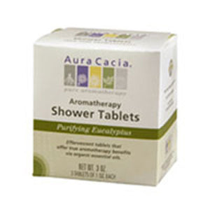 Shower Tablets Eucalyptus, 3 Tablets by Aura Cacia (2584251924565)