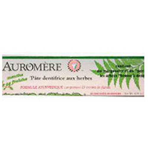 Ayurvedic Herbal Toothpaste Freshmint 4.16 Fl Oz by Auromere