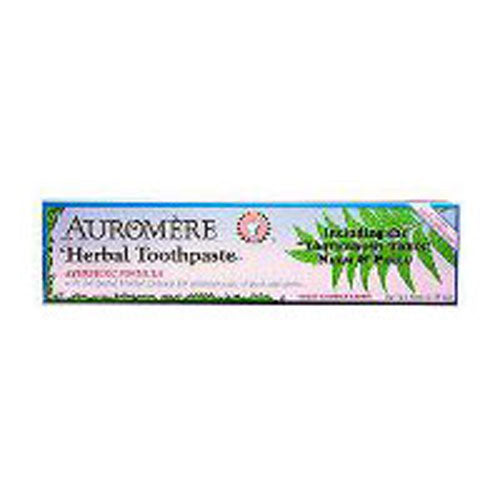 Ayurvedic Herbal Toothpaste Licorice, 4.16 Oz by Auromere