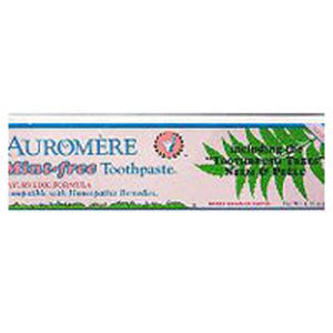 Ayurvedic Herbal Toothpaste Mint-Free 4.16 Fl Oz by Auromere (2583973953621)