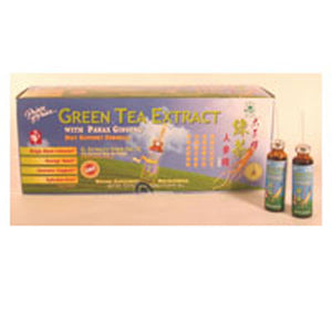 Green Tea Extract W/Panax Ginseng EA 1/30 VIAL by Prince Of Peace