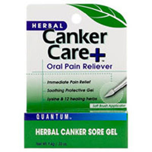 Cankercare+ Oral Gel Pain Reliever Care+ Gel 0.33 Oz by Quantum Health (2588865167445)