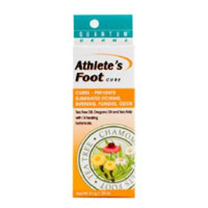 Athlete's Foot Quick Drying Anti-Fungal Formula 21 Grams by Quantum Health (2584194908245)