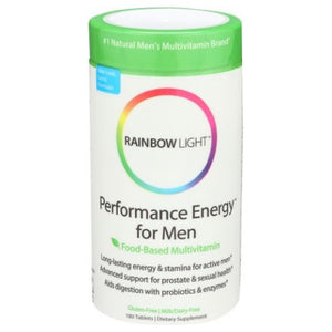 Performance Energy for Men 180 Tabs by Rainbow Light