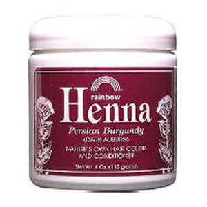 Henna PERSIAN BURGUNDY, 4 OZ by Rainbow Research (2588880765013)