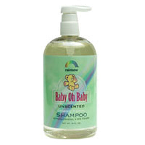 Baby Oh Baby Shampoo 8 OZ by Rainbow Research (2588881190997)