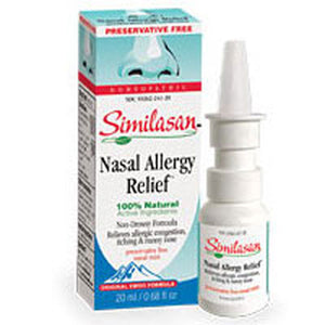 Nasal Allergy Relief 0.68 Fl Oz by Similasan (2584057118805)