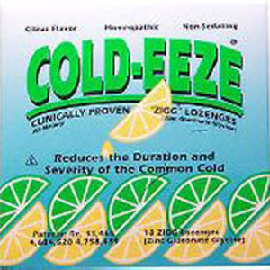 Cold-Eeze Homeopathic, Non-Sedating Lozenges Lemon Lime Citrus, 18 Pc by Cold-Eeze