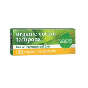 Tampon, Organic Super Plus Digital 20 Count by Seventh Generation