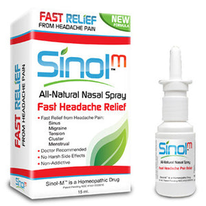 Sinol M Headache Nasal Spray 15 Ml by Sinol (2584197857365)