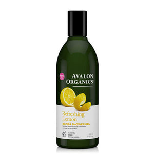 Bath & Shower Gel Organic Lemon 12 Oz by Avalon Organics (2583974707285)