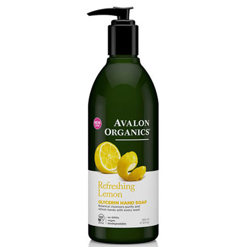 Glycerin Hand Soap Lemon 12Oz by Avalon Organics