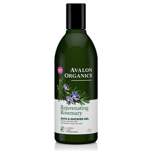 Bath & Shower Gel Organic Rosemary 12 Oz by Avalon Organics