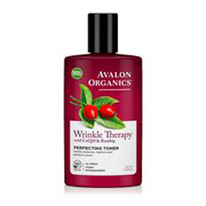 Wrinkle Therapy Perfecting Toner With CoQ10 & Rosehip, 8 Oz by Avalon Organics (2584053350485)