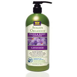 Hand and Body Lotion Lavender,32 Oz by Avalon Organics (2584200380501)