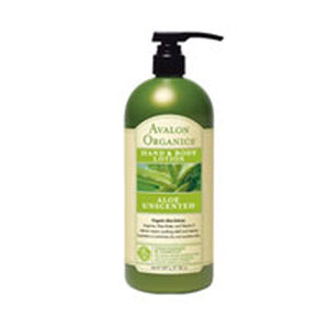 Hand & Body Lotion Aloe Unscented, 32 Oz by Avalon Organics (2584200446037)