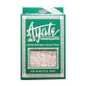 Ayate Fiber Wash Cloth 1 EACH by Flower Valley (2584101552213)