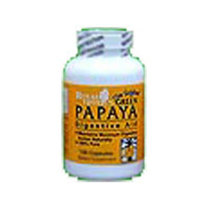 Green Papaya Digestive Enzymes 75 Caps by Royal Tropics (2584080646229)