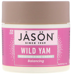 Balancing Wild Yam Creme 4 FL Oz by Jason Natural Products (2583992533077)
