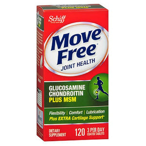 Schiff Move Free Advanced Tablets Plus Msm 120 tabs by Schiff/Bio Foods (2584233508949)