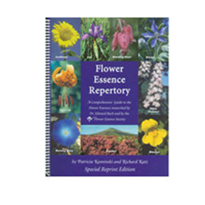 Flower Essence Repertory Comb Bound Book by Flower Essence Services