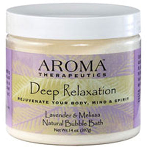 Aroma Therapeutic Bubble Bath Deep Relaxation 14 Oz by Abra Therapeutics (2588934013013)