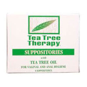 Tea Tree Suppository 6 pk by Tea Tree Therapy (2584031723605)
