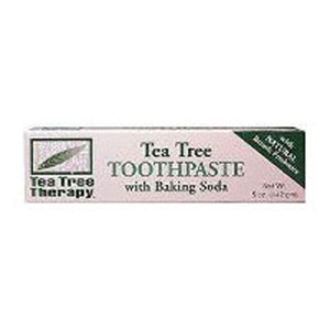 Natural Toothpaste 5 OZ EA by Tea Tree Therapy
