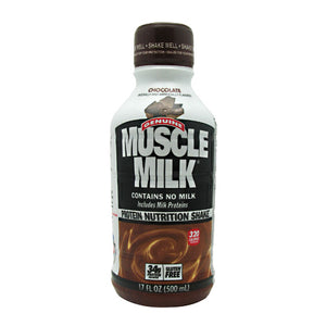 MUSCLE MILK RTD Chocolate 12 / 17 oz by Cytosport (2590252761173)