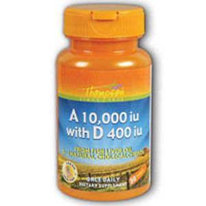 Vitamin A & D Fish Liver Oil FISH LIVER OIL, 30 SGEL by Thompson