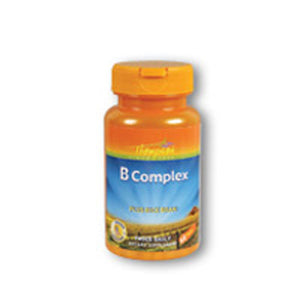 Vitamin B Complex WITH RICE BRAN, 60 TAB by Thompson (2588786819157)