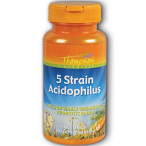 5 Strain Acidophilus 60 caps by Thompson