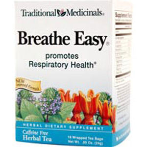 Breathe Easy Tea 16 Bags by Traditional Medicinals Teas