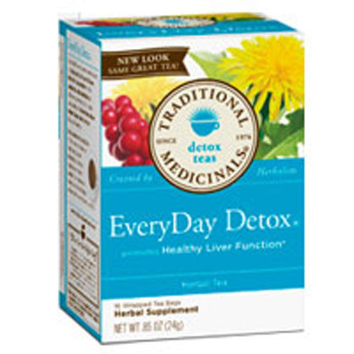 EveryDay Detox Tea 16 Bags by Traditional Medicinals Teas