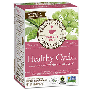 Healthy Cycle Tea 16 Bags by Traditional Medicinals Teas